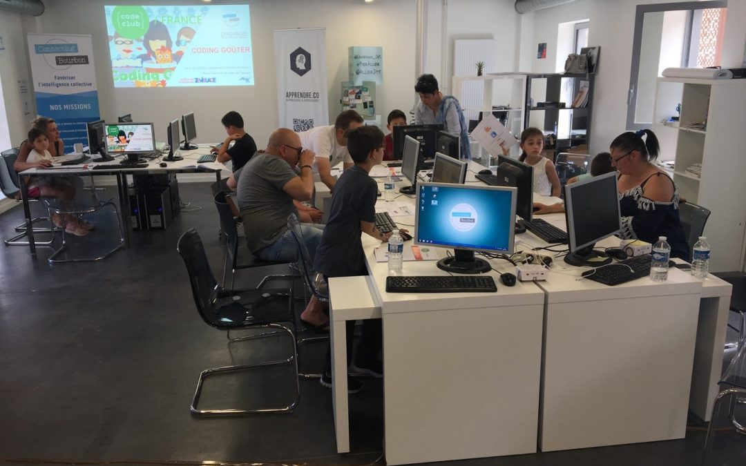 Coding Goûter – Espace Coworking Moulins
